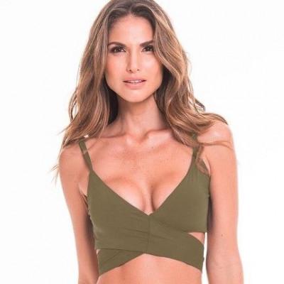 Bikini Top 27 | Army Green