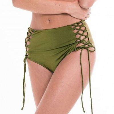 Bikini Bottom 27 | Army Green