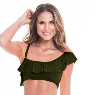 Bikini Top 21 | Army Green