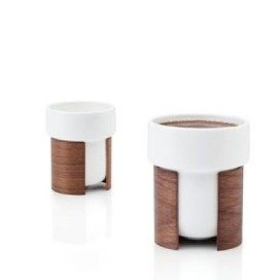 WARM 2er-Set Tee- und Kaffeetassen   Weiß