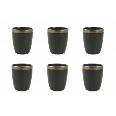 Wasserglas Naima 6er-Set   Schwarz