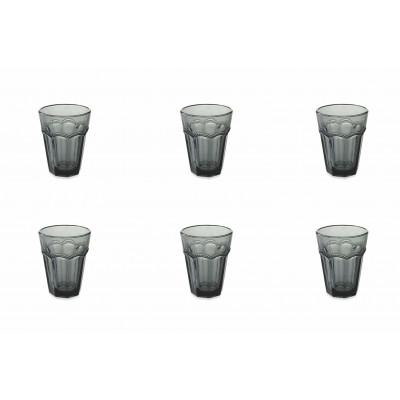 Wasserglas Floyd 6er-Set   Schwarz