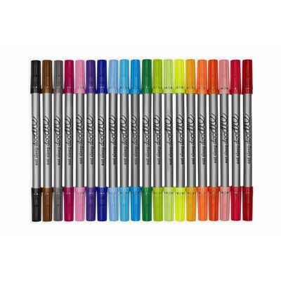 Satz mit 20 auswaschbaren Stiften