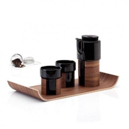 WARM Teekanne/Kaffeekanne Klein | Schwarz