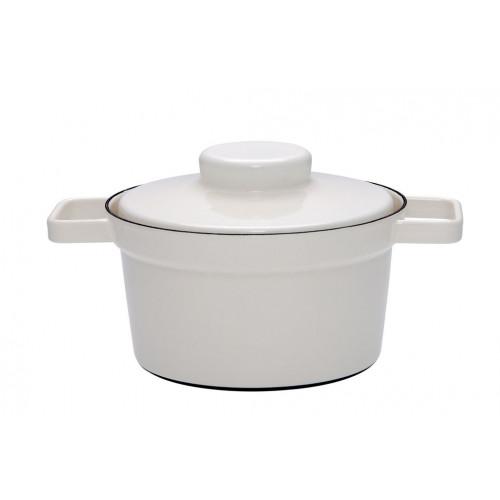 Aromapot Light Grey, Pot with Lid