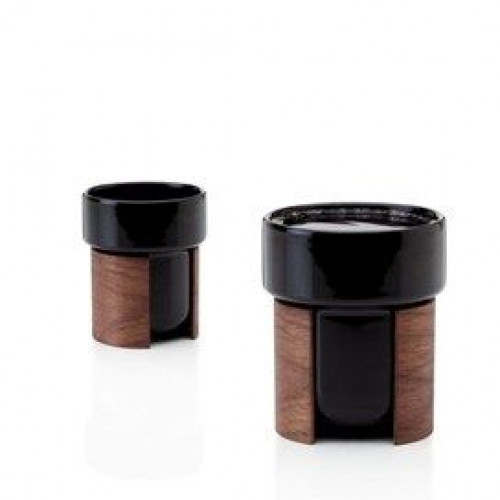 WARM Set of 2 Tea & Coffee Cups | Black