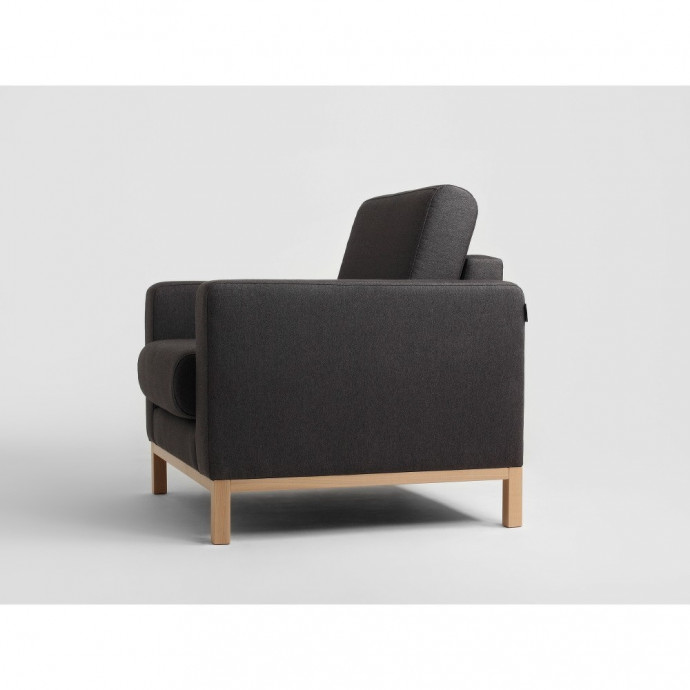 2-Sitzer-Sofa Scandic | Carbon Grau