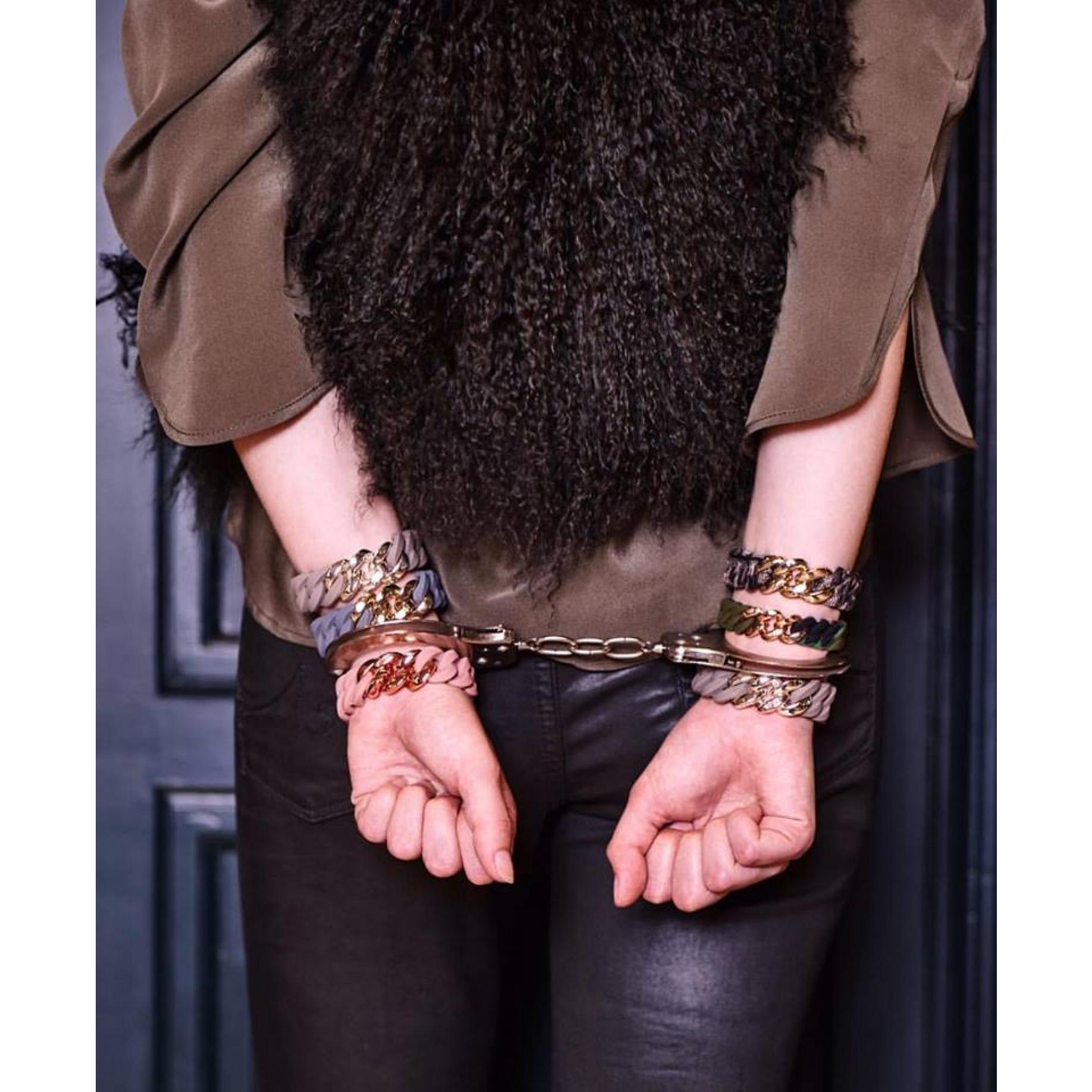 Classic Mini Bracelet 15 mm | Camo & Shiny Black