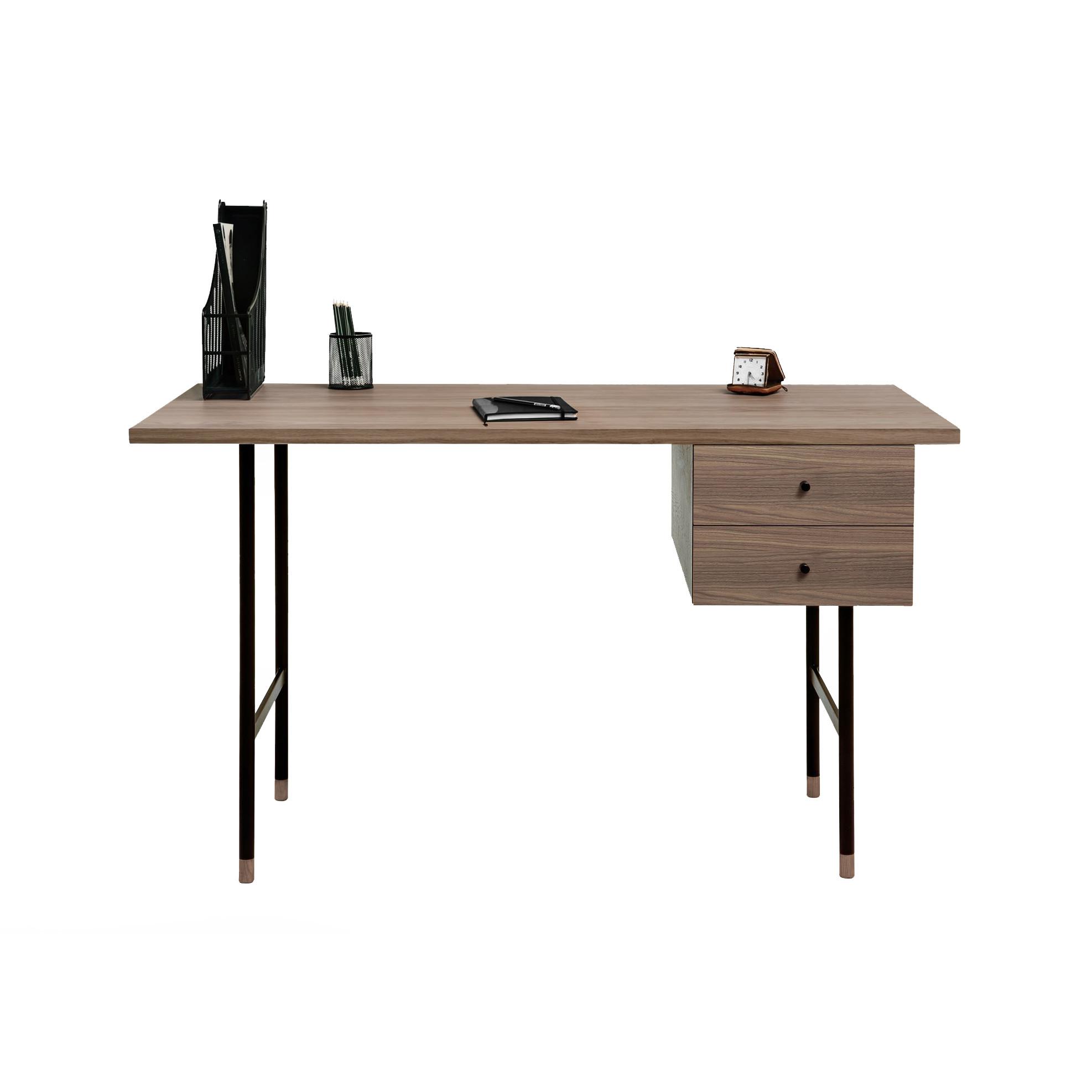 Schreibtisch Jugend   Walnuss