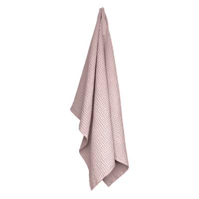 Big Waffle Towel/Blanket   Pale Rose