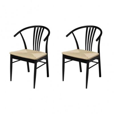 Stühle Yana 2er-Satz | Schwarz