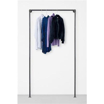 The Walk-In 1 Row Wardrobe System I Black