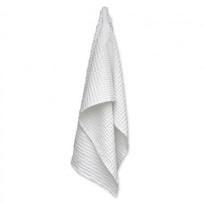 Big Waffle Medium Towel   White