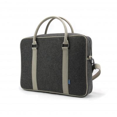 Martin Briefcase   Grey