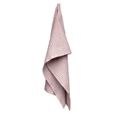 Big Waffle Medium Towel   Pale Rose