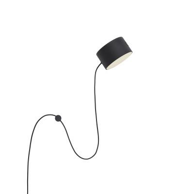 Wandlampe Post l Schwarz