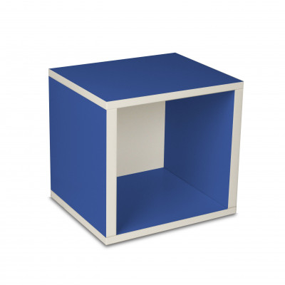 Aufbewahrungswürfel Box Blau