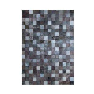 Leather Carpet | Multi Grey