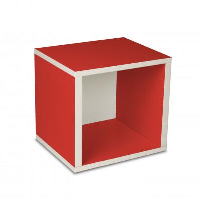 Aufbewahrungswürfel-Box Rot