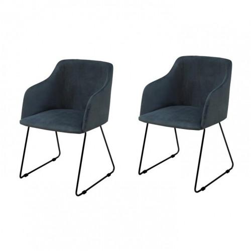 Set of 2 Armchairs Cobi | Dark Blue