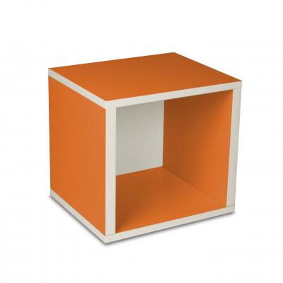 Aufbewahrungswürfel-Box Orange