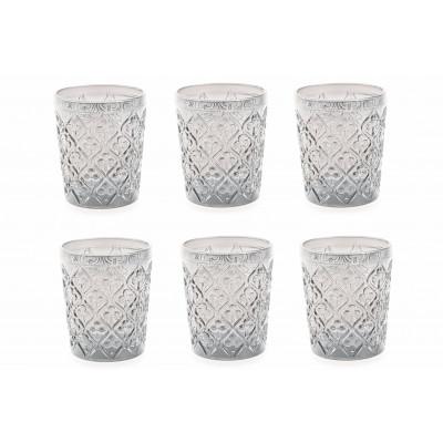 Wasserglas Marrakesch 6er-Set   Transparent