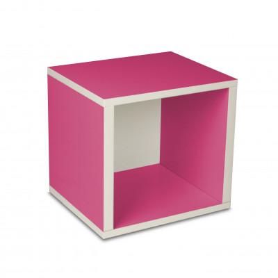 Aufbewahrungswürfel-Box Rosa