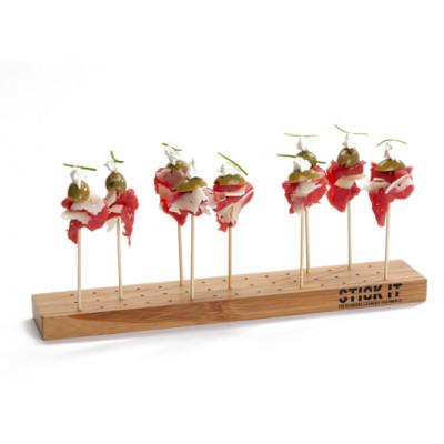 Servierbrett Stick It | 90 Löcher