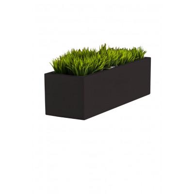 Pflanzentopf Long | Schwarz