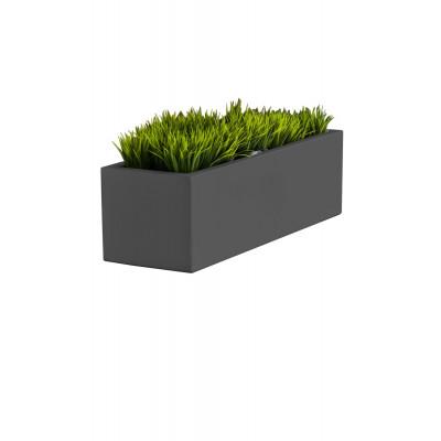 Pflanzentopf Long | Grau