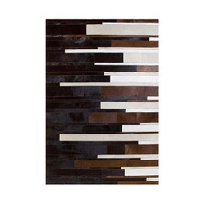 Lederteppich   Diffused Braun