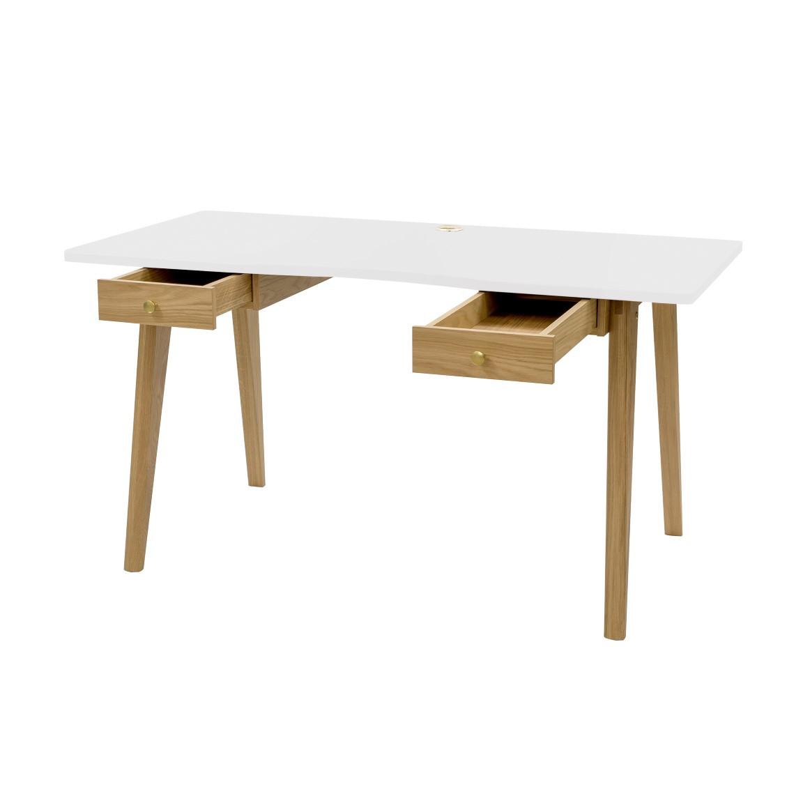 Schreibtisch Nizza | Hellbraun