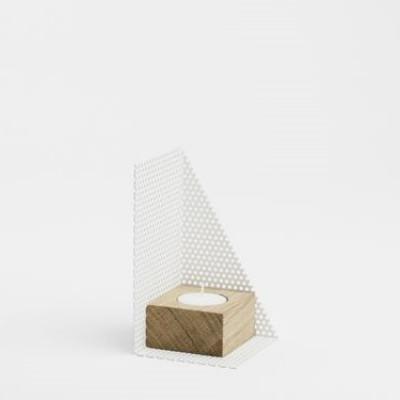 KL71s Candleholder Small | White
