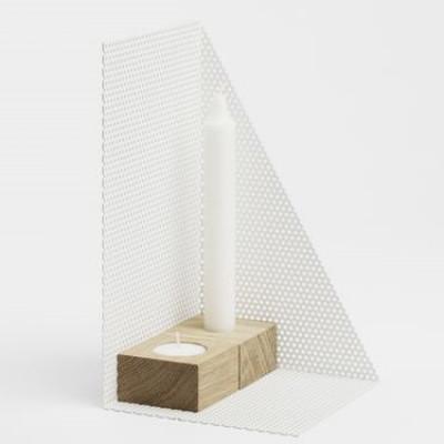 KL71s Candleholder Medium | White