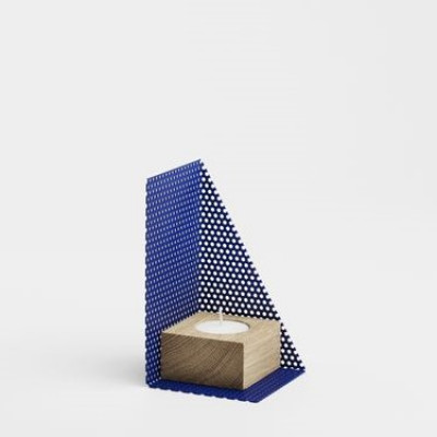 KL71s Candleholder Small | Blue