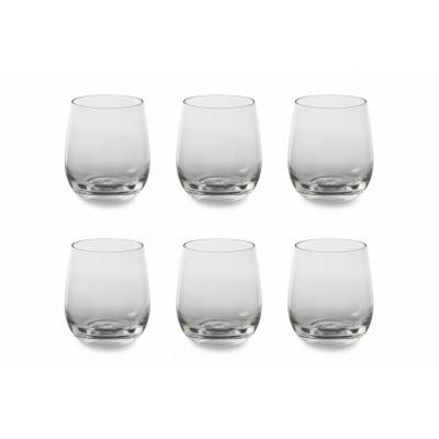 Wasserglas 6er-Set   Transparent