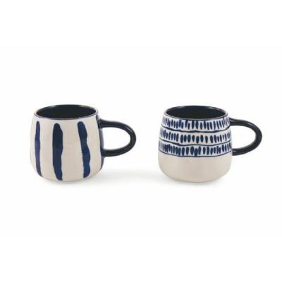 Mug Masai Set of 2   Blue