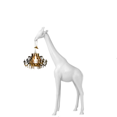 Lamp Giraffe in Love XS | White