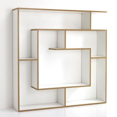 Bücherregal / Raumteiler Cubo