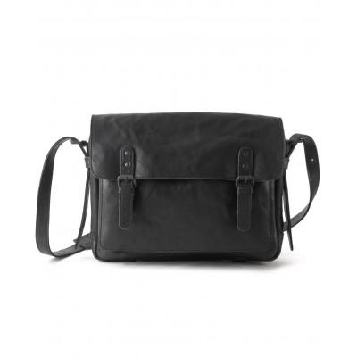 Leather Messenger Bag Large