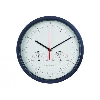 Hygro-Thermo Clock