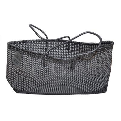 Einkaufstasche Flex   Grau & Schwarz