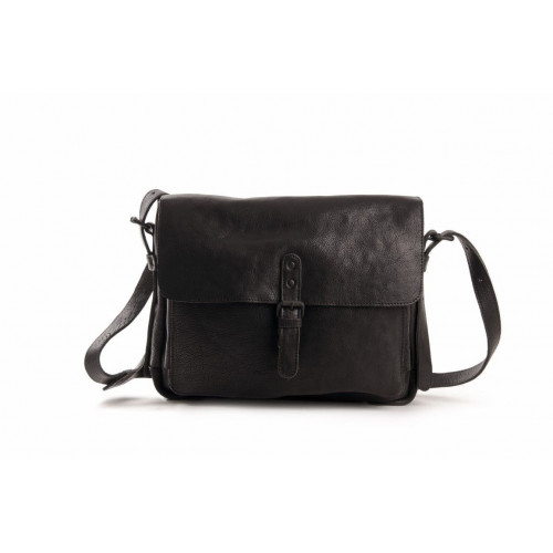 Leather Messenger Bag Medium
