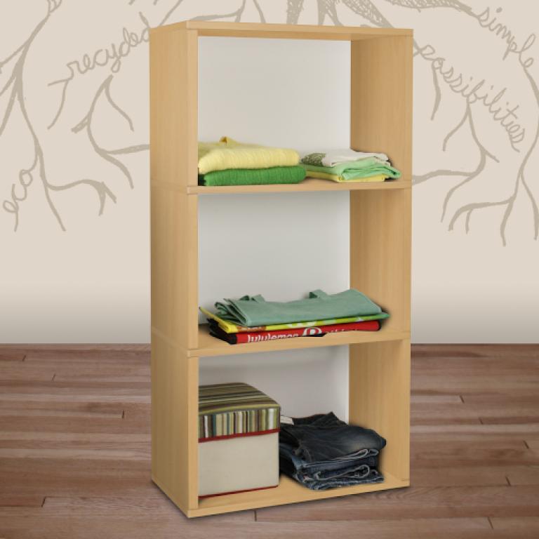 Rectangle Plus 3 Shelf | Cedar
