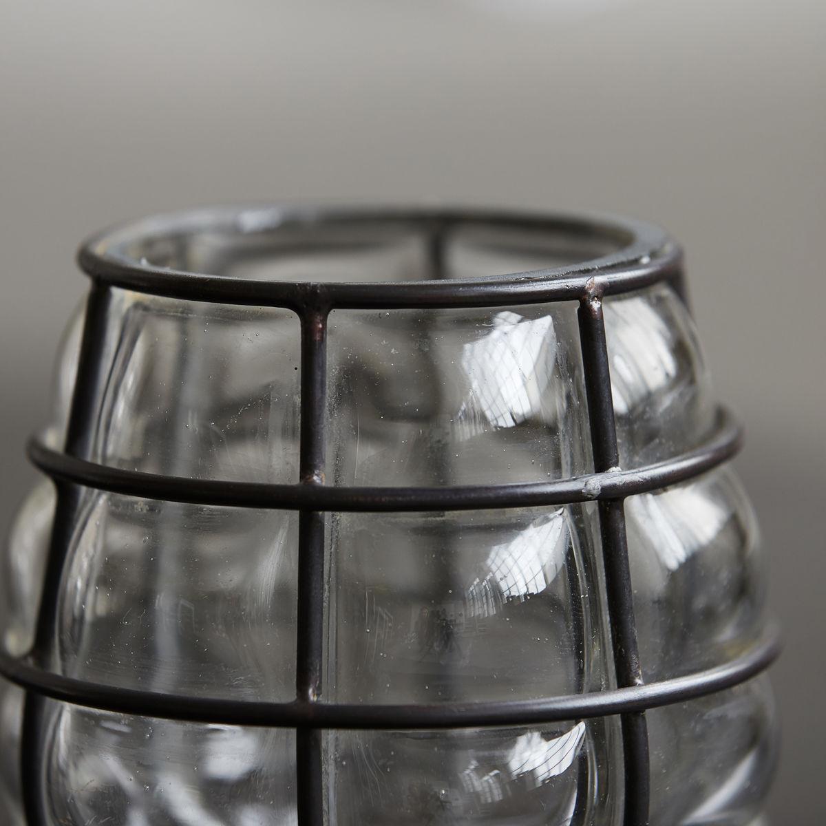 Kerzenständer Navi Groß   Antikes Metall
