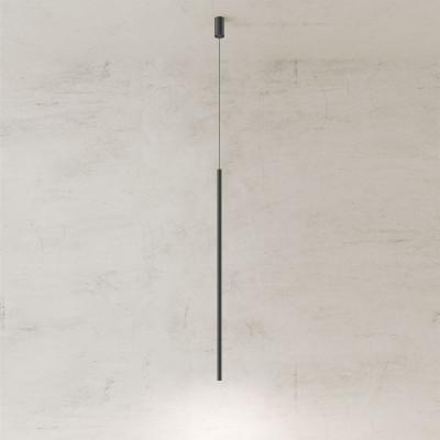 Pendelleuchte Twenty-Five 120 cm | Schwarz