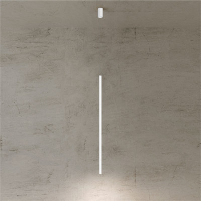Pendelleuchte Twenty-Five 120 cm | Weiß