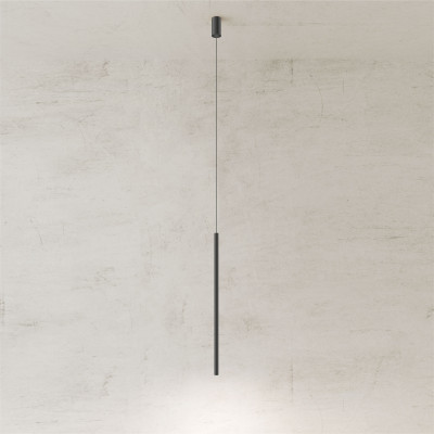 Pendelleuchte Twenty-Five 80 cm | Schwarz
