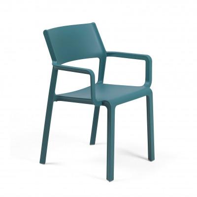 Stapelbarer Sessel Triller | Blau