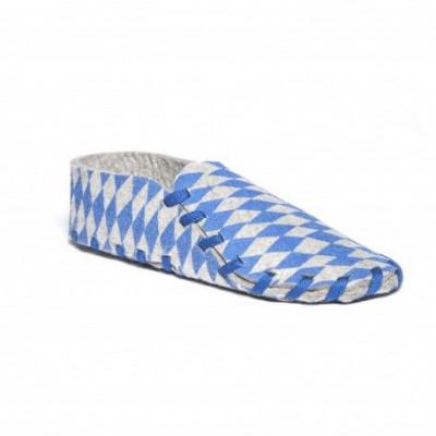 Lasso Shoes Print | Blue